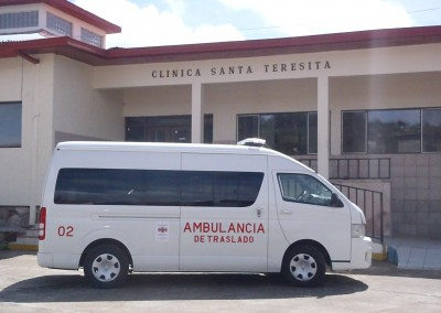 Tarahumara Hospital and Ambulance